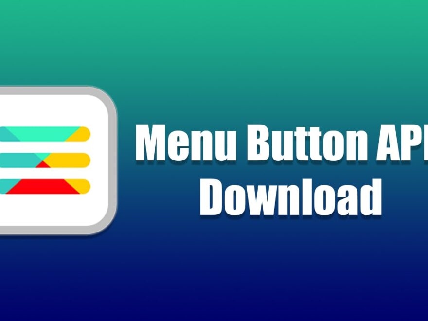 menu button apk